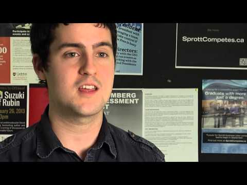 Watch Video: Interview with Aerospace Engineering student Rob Stalker