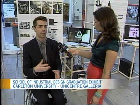 Watch Video: School of Industrial Design featured on CTV Morning Live