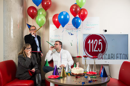 Read more about: 1125@Carleton Living Lab Celebrates a Year of Incubating Multidisciplinary Innovation