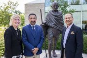 Carleton President Signs MOUs with India Partners While Accepting International Award
