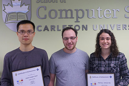 Carleton Computer Science students brought the university to its best-ever finish in the Eastern Central North America regional semi-final for the ACM International Collegiate Programming Contest