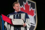 Daniel Alfredsson Receives Honorary Doctorate from Carleton University