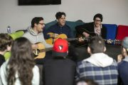 Arkells Drop in on Stormont Students