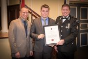 Carleton's Student Emergency Response Team Receives Life Saving Award