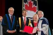 Daniel Poliquin Receives Honorary Doctorate from Carleton University