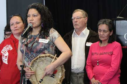 Read more about: Peoples' Gathering at Carleton Gives Voice to Grief from Relatives of Missing and Murdered Aboriginal Women