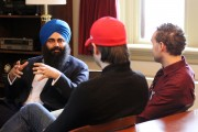 Carleton Graduate Class Meets with Minister of Multiculturalism