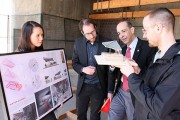 Ottawa Mayor Jim Watson Visits Carleton Architecture Students' Parklet Designs