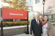 Carleton's River Building Renamed Richcraft Hall in Honor of Singhal Family Donation