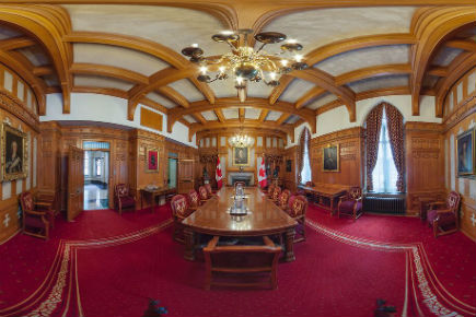 Read more about: Carleton Immersive Media Studio Helps Public Access Hidden Corners of Centre Block with Expanded Senate Virtual Tour