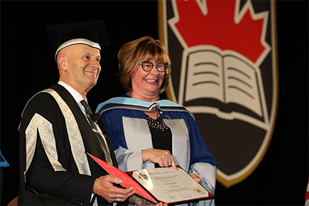 Read more about: Shelagh Rogers Receives Honorary Doctorate from Carleton University