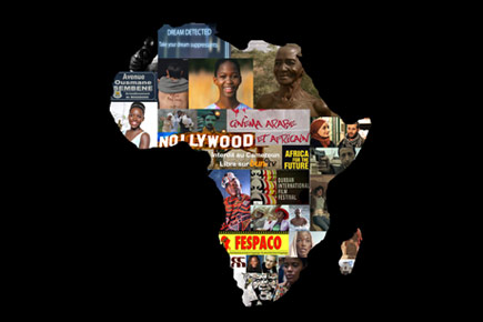 An image of the Africa content, superimposed with a collage of movie posters.
