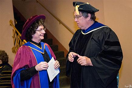 Allan Ryan receives the University of Arizona's Professional Achievement Award