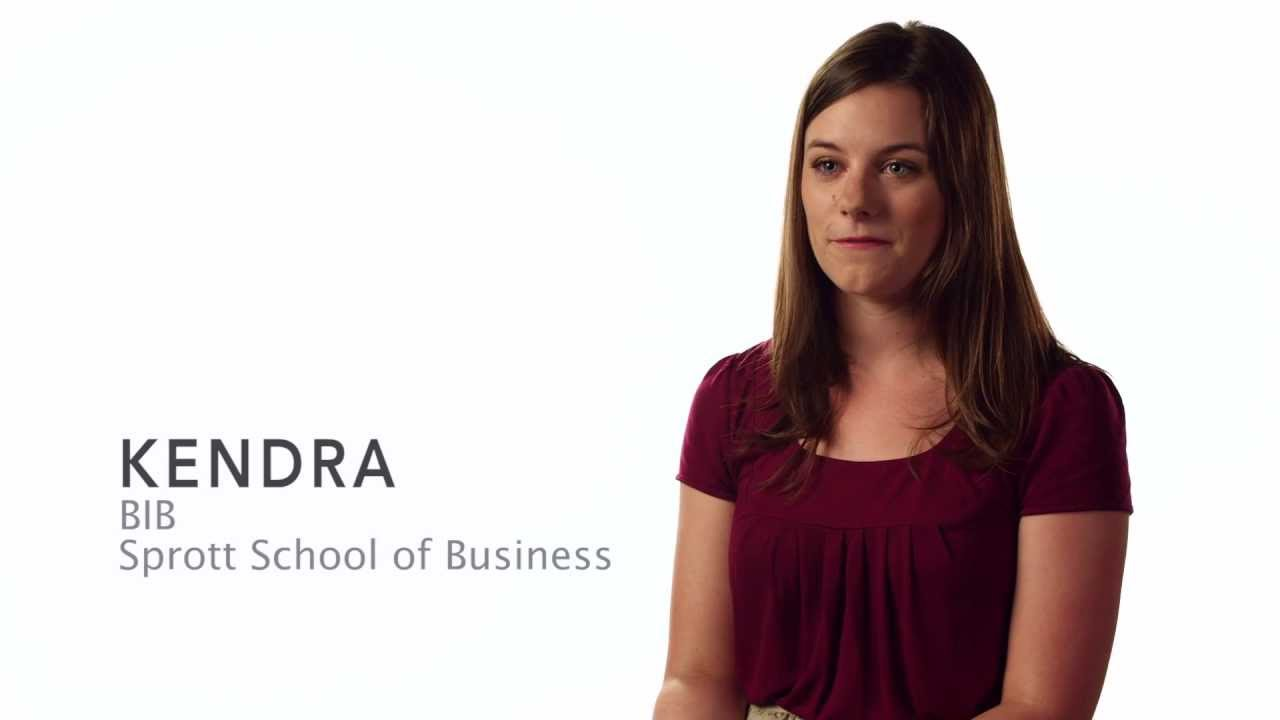 "Watch Video: Carleton Stories: Kendra – ""Financial Support"""