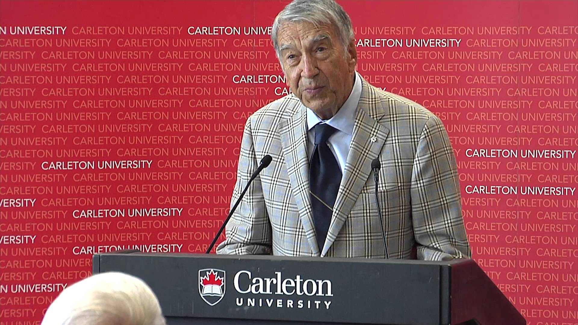 Watch Video: Carleton University Announces $10-Million Gift for New Business School Building