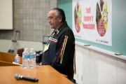 Carleton Hosts National Chief Dwight Dorey at Youth Conference