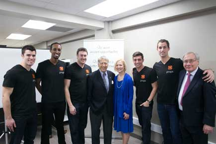 Read more about: Carleton Student Team Celebrates Launch of props App for Contact Information