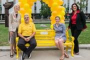 Friendship Bench Encourages Conversation on Campus about Mental Health