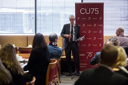 Read more about: Carleton Thanks CU75 Volunteers