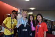 Carleton President Connects with Future Students from SHAD Program