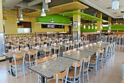 University Centre Food Court Receives New food choices and Revamped Recycling Program