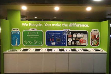 Carleton University's Food Court Achieves Zero Waste