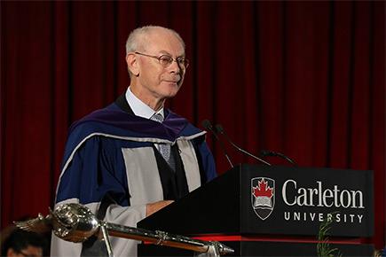 Read more about: Herman Van Rompuy Receives Honorary Doctorate from Carleton University