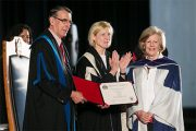Jodi White Receives Honorary Doctorate from Carleton University