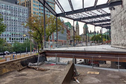 The NAC renovation, pictured here, represents a major transformation in Ottawa architecture.