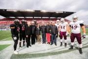 Carleton University Football Program Receives Major Donation during Panda Game