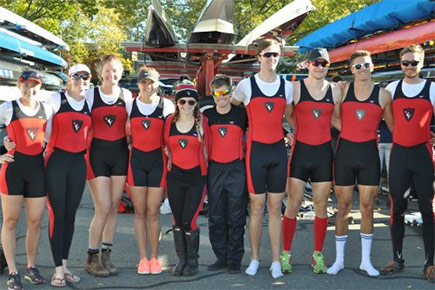 Carleton women's rowing team captures silver in Boston