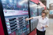Carleton University Unveils Digital Engineering Wall to Showcase Activities