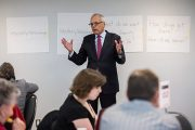 Talk Exchange Gathering Generates Big-Picture Ideas for Board of Governors