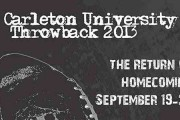 Carleton Throwback 2013, the Return of Homecoming