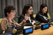 Carleton Researcher Marika Morris Presents at the UN on Women's Leadership