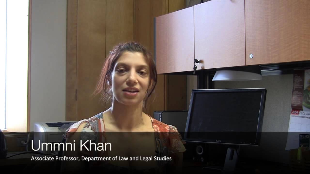 Watch Video: Ummni Khan discusses her research and upcoming book