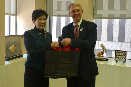 Read more about: Carleton University Meets with Governor of Tokyo