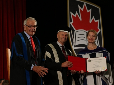 Photo for the news post: Jayne Stoyles Receives Honorary Doctorate from Carleton University