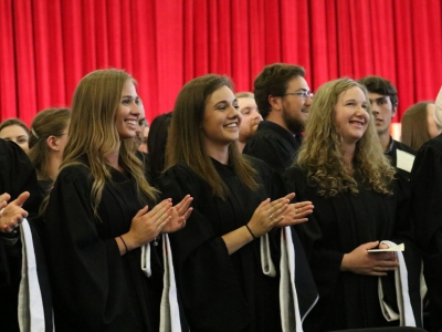Photo for the news post: Carleton's Four-Day Spring Convocation Ends