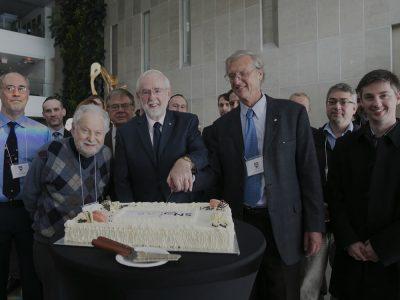 Photo thumbnail for the story: Nobel Laureate Thanks Carleton