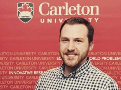 Photo for the news post: Carleton Graduate Student Wins Second Place in NSERC's Science, Action! Video Competition