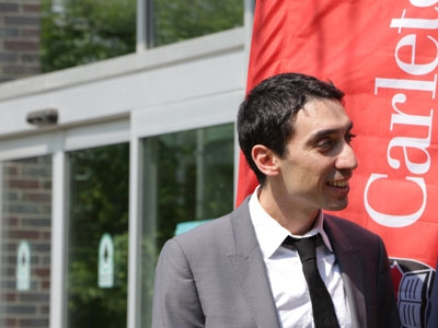 Photo for the news post: Carleton's Burak Gunay Receives Funding to Develop a Diagnostic Tool Kit to Improve Building Efficiency