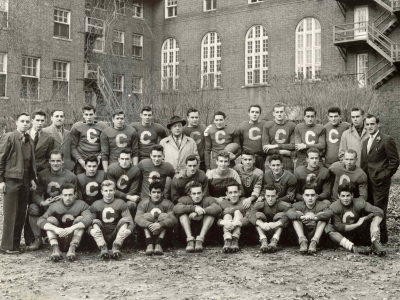 Photo for the news post: Celebrating 75 Years of Carleton Ravens Football