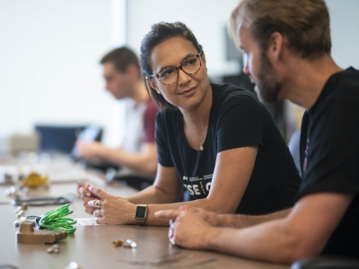 Photo for the news post: Carleton Hosts iHack and Attracts Local Computing Hacking Talent