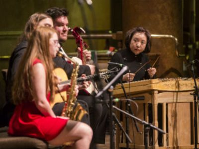 Photo for the news post: Carleton Joins Chinese Musicians at Church Performance