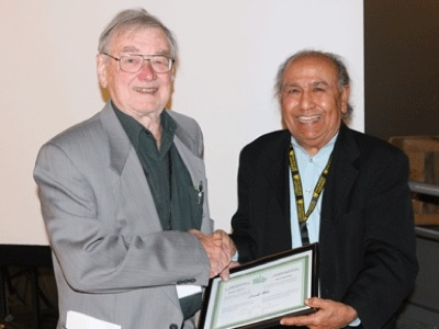 Photo for the news post: Carleton Professor Emeritus Recognized by National Retiree Association