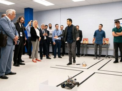 Photo for the news post: Carleton's Department of Systems and Computer Engineering Hosts French Delegation