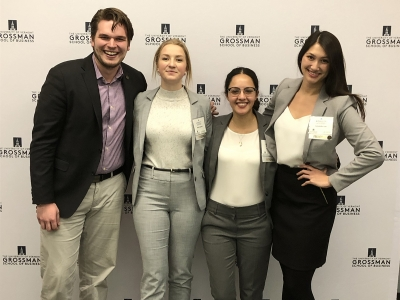 Photo for the news post: Sprott Students Win the Global Family Enterprise Case Competition