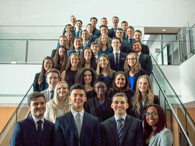 Photo for the news post: Carleton's Sprott School of Business Shines at JDC Central 2019
