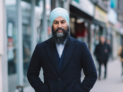Photo for the news post: New Democratic Party Leader Jagmeet Singh Wishes New Carleton Graduates Well